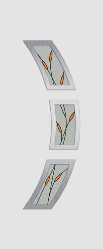 Lövenberg Glas 3 DS234 alu. minta