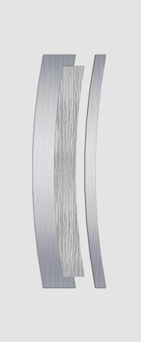 Wesel Glas 1 fehér fatörzs alu. minta