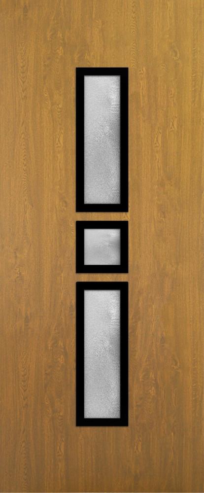 Essen Aranytölgy Glas 3 csincsilla fekete minta