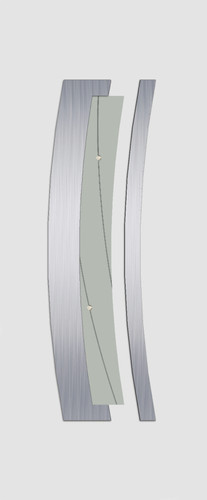 Wesel Glas 1 DS223 alu. minta