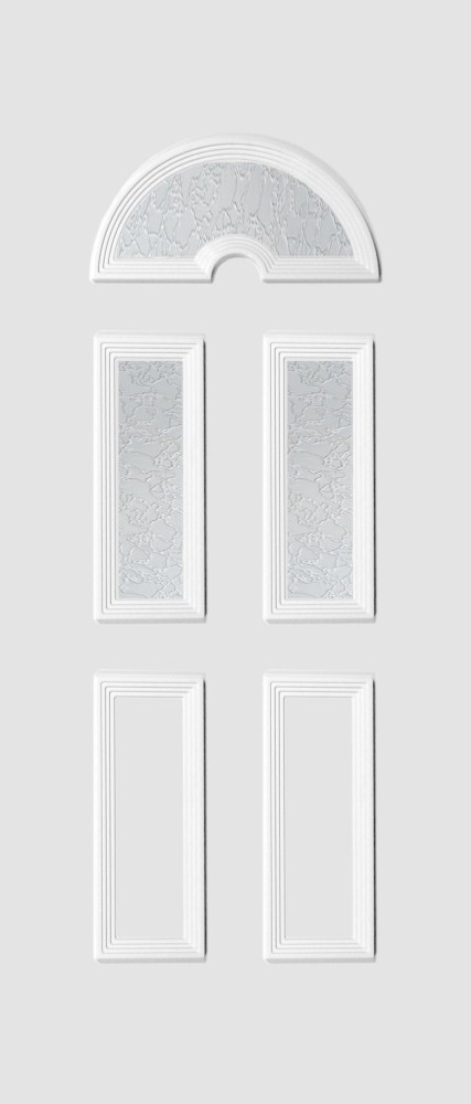 Köln Glas 3 fehér matt delta