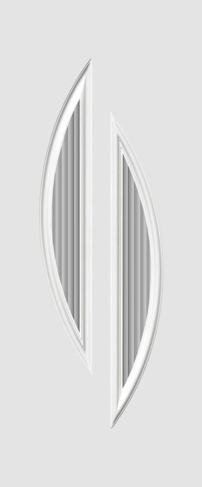 Ausbach Glas 2 fehér flutes