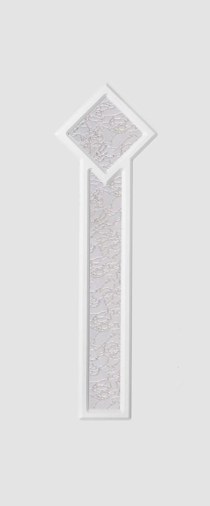 Hannover Glas 2 fehér matt delta