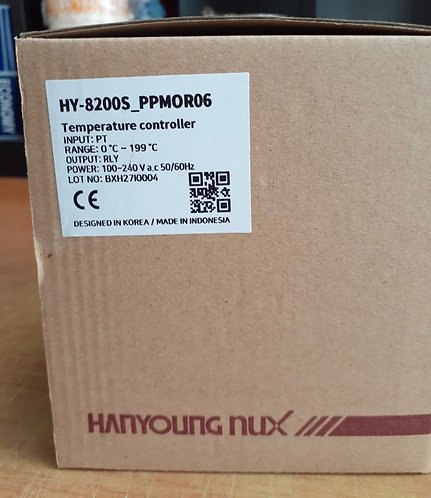 Hanyoung Nux Temperature Controller HY-8200S-FPMOR04