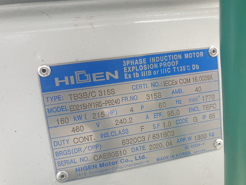 Higen Motor  ED215HY1RS-PB240