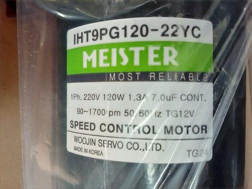 WOOJIN SERVO MEISTER IHT9PG120-22YC