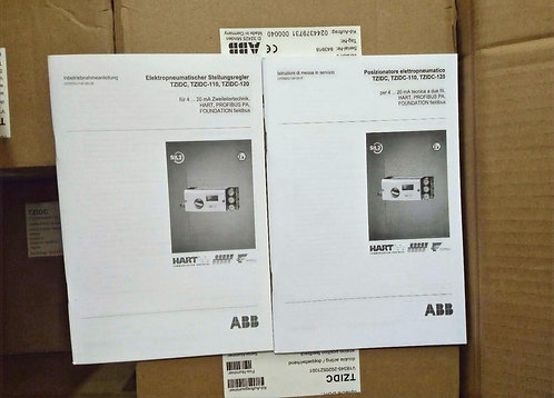 ABB Valve Position Control V18345-2020521001