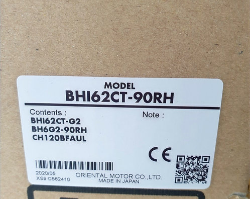 Oriental Induction Motor BHI62CT-90RH