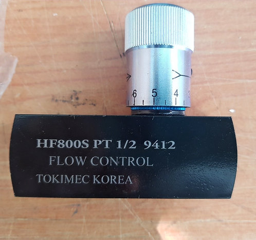 Tokimec Flow Control Check Valve HF-800S(1/2)