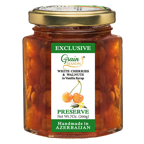White Cherry & Walnut Preserve