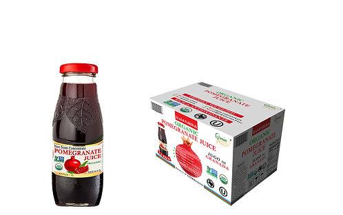 Organic Pomegranate Juice 12 x 6.8 Fl.Oz
