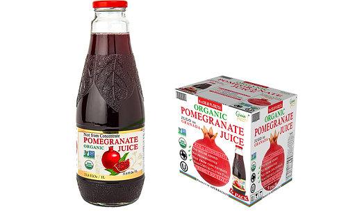 Organic Pomegranate Juice                          6 x 33.8 Fl.Oz