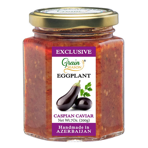 Caspian Eggplant Caviar (Reg.)