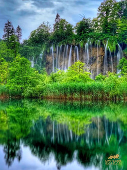 Plitvice Lakes National Park - Waterfall