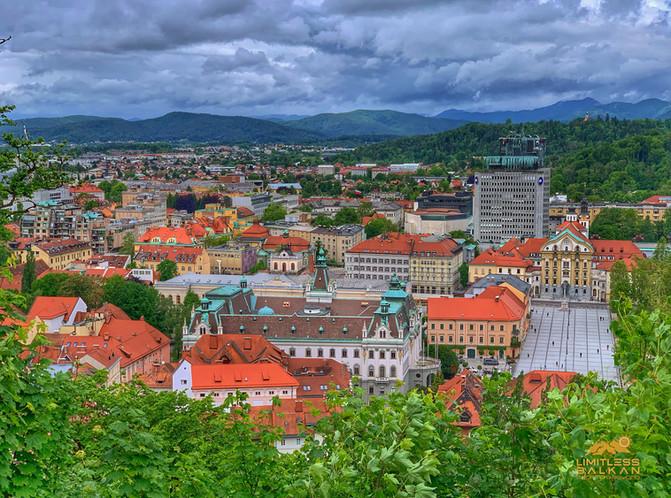 Ljubljana - castle view
