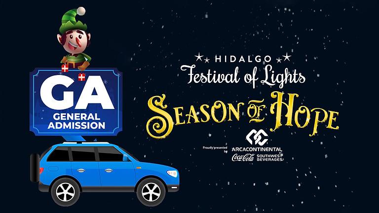 Hidalgo Festival Of Lights Drive Thru Experience (GA)