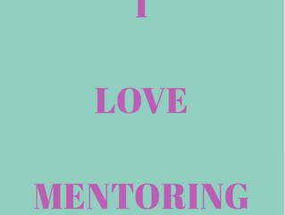 Why I love mentoring