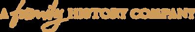 A Family History Company