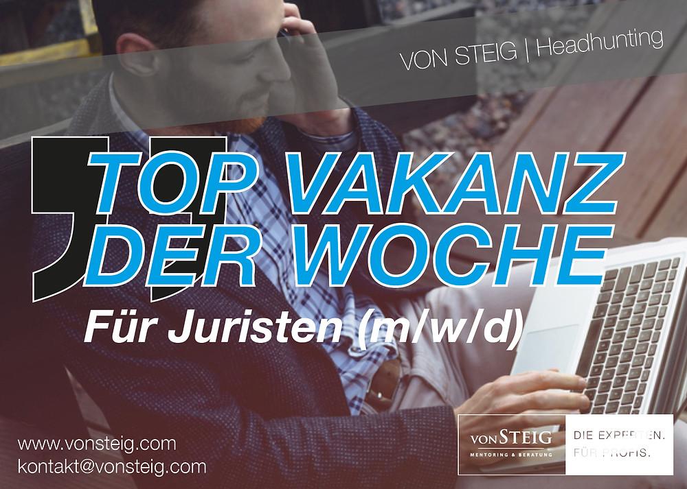 Top Vakanz für Juristen in Stuttgart