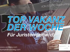 VON STEIG präsentiert die top Vakanz der Woche in Stuttgart
