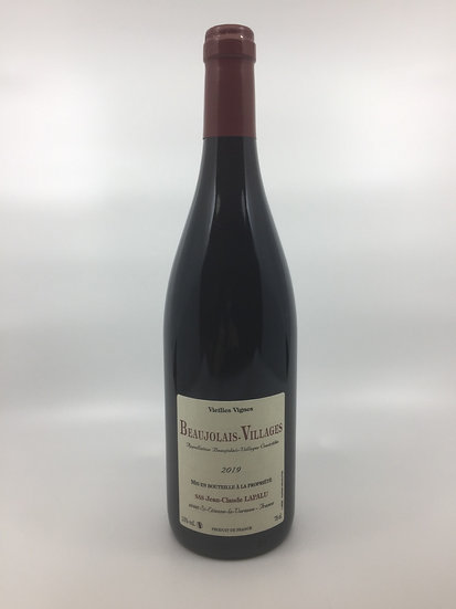 Jean Claude Lapalu Vieilles Vignes Beaujolais Villages