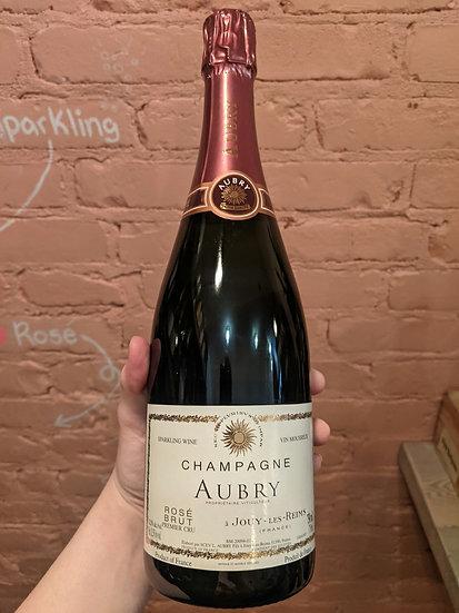 L. Aubry Fils Champagne Brut Rosé Chard/Pinot Noir/Meunier