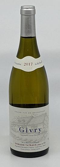 Domaine Tatraux Givry Burgundy Chardonnay