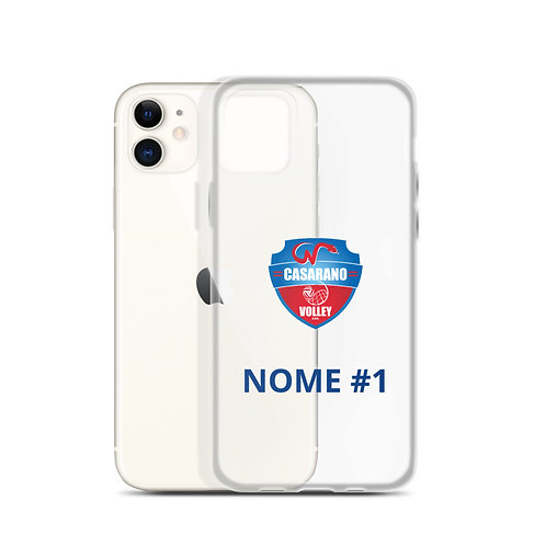 Cover iPhone Casarano Volley Personalizzabile