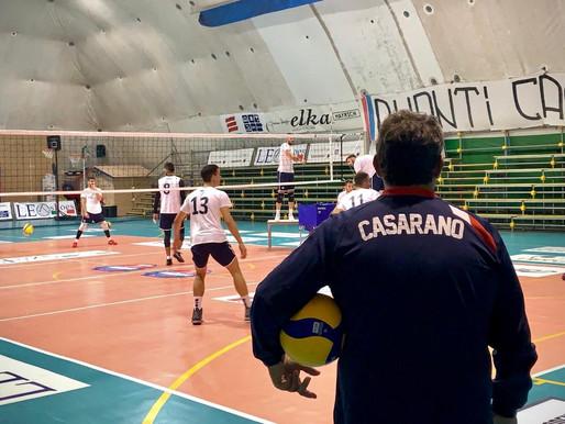 LEO SHOES CASARANO, CONTINUA IL LAVORO DI PREPARAZIONE IN VISTA DI UN INIZIO DI CAMPIONATO INCERTO
