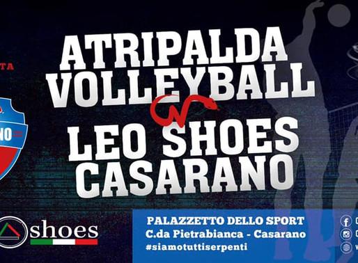 LEO SHOES CASARANO, ULTIMA PARTITA DELLA STAGIONE CON ATRIPALDA!