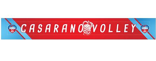 Sciarpa Tifoso Casarano Volley