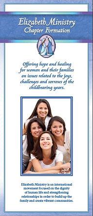 Elizabeth Ministry Chapter Formation Brochure