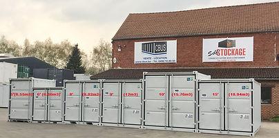 locaton vente containers maritimes stockage bureaux