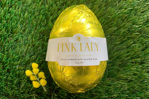 Pink Lady Milk Chocolate 100g Easter Egg