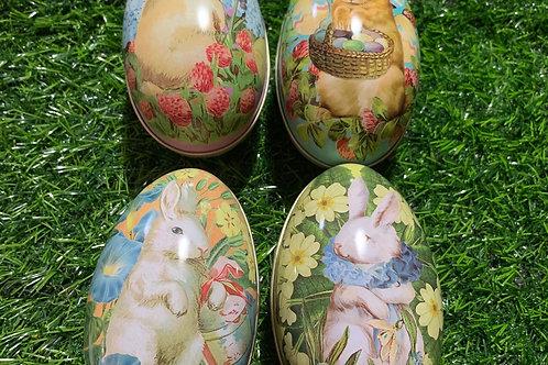 Vintage Easter Egg Tin Assort Designs