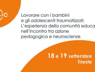Lavorare con i bambini traumatizzati: evento formativo - nuove date: 18 e 19 settembre