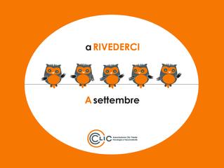 A RIVEDERCI A SETTEMBRE!