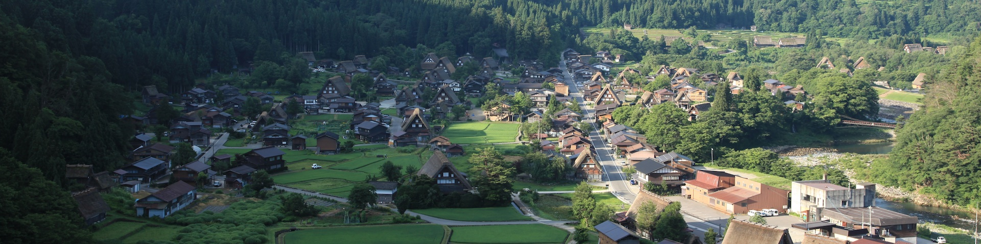 Shirakawago summer