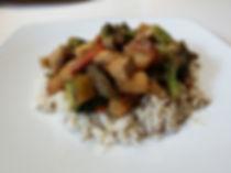 healthy simple brown rice stir fry recipe