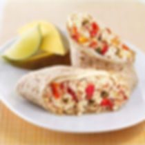 my favorite healthy breakfast burrito