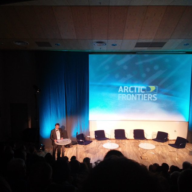 Plenary Session of Artic Frontiers 2017