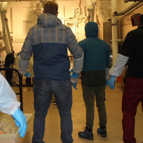 Sterile conditions are needed to not contaminate samples
