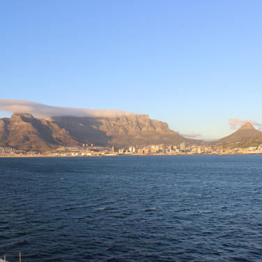 Arrival in Cape Town