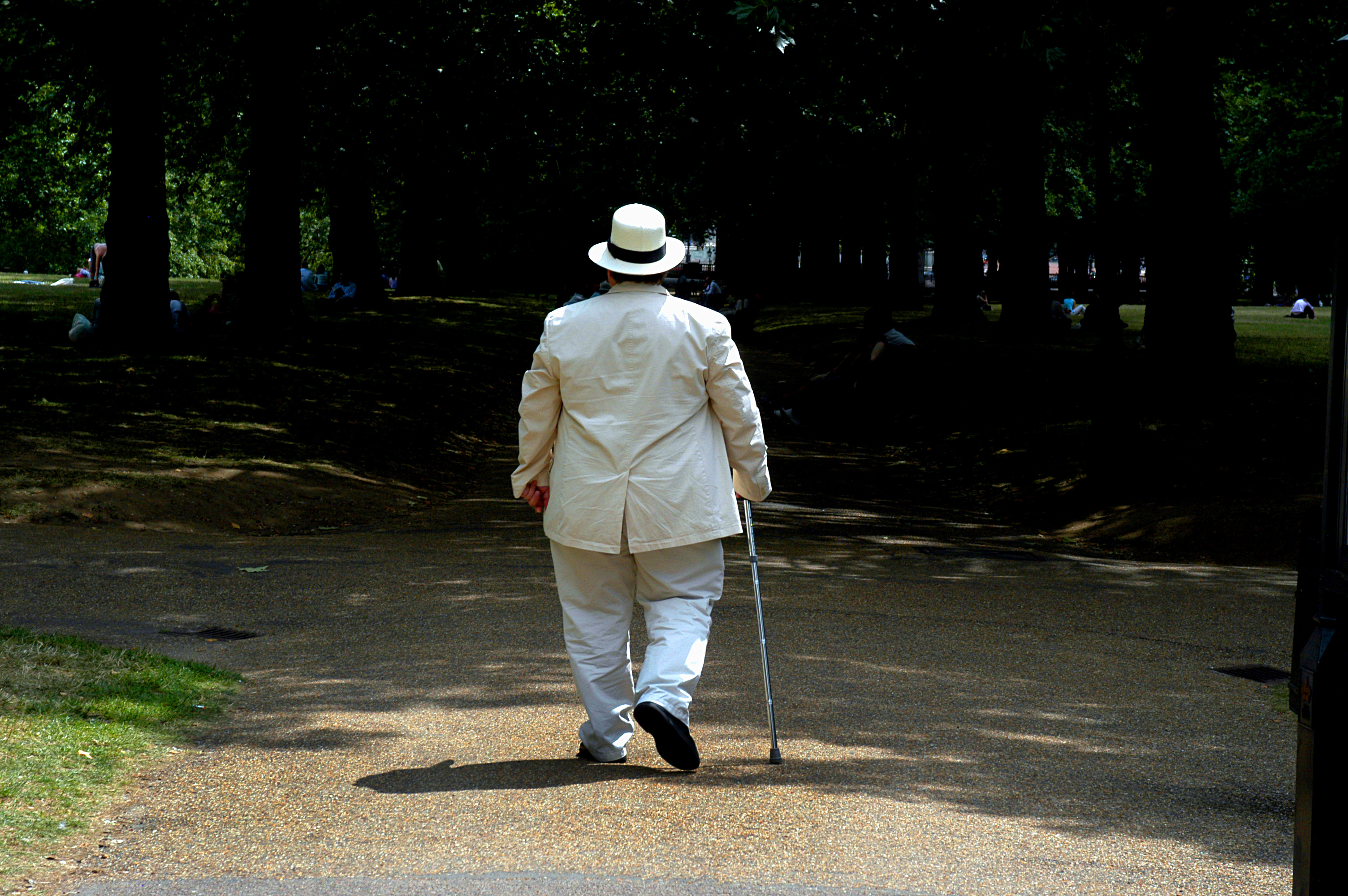 White Suit, Green Park