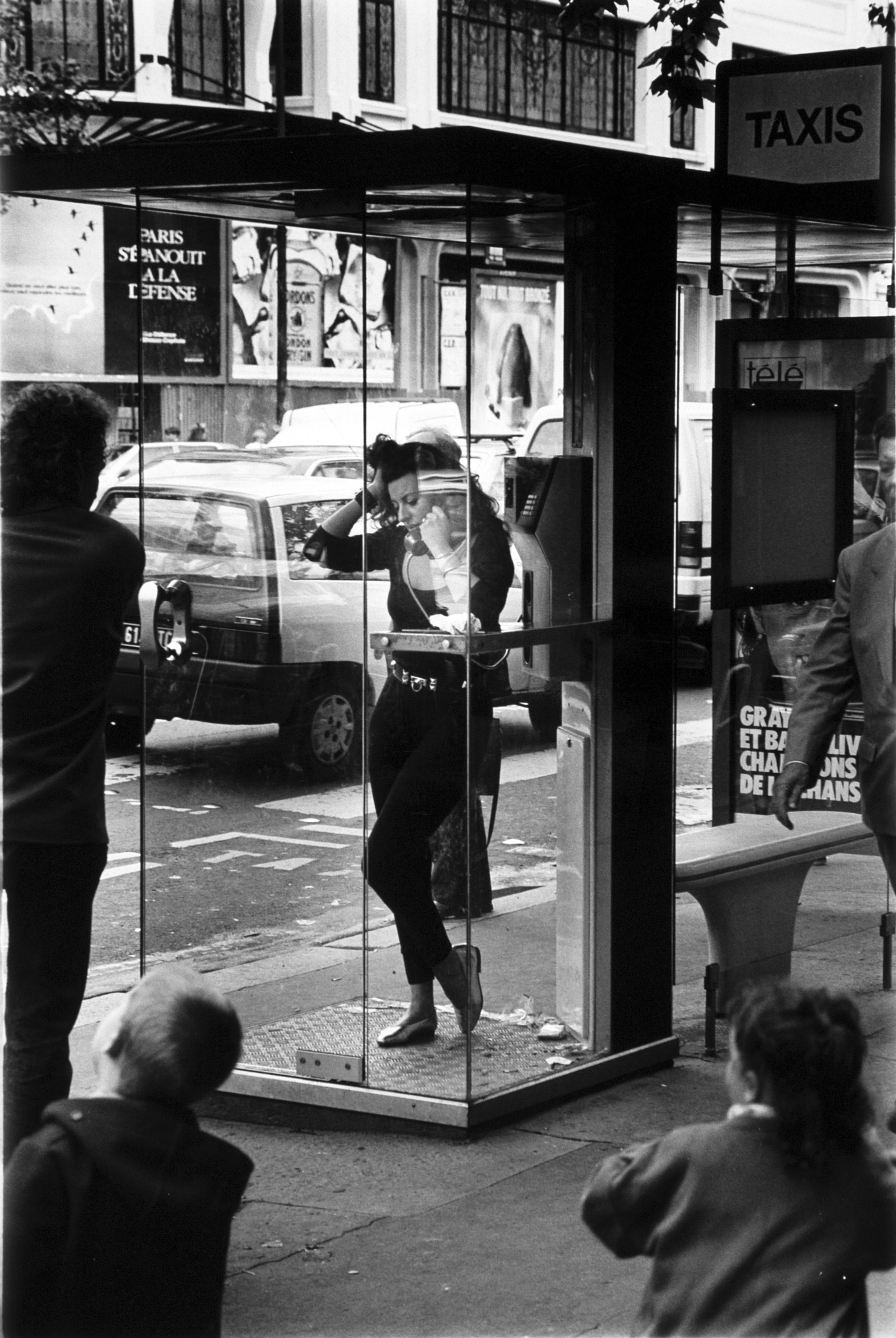 Paris phone booth