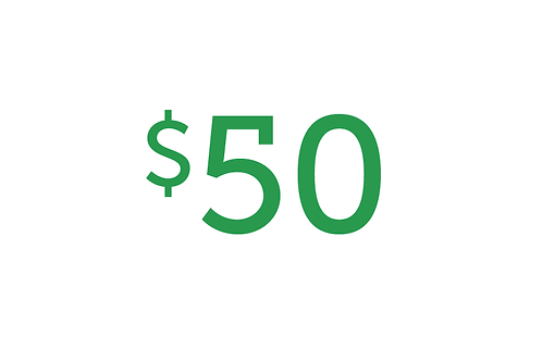 $50 Gift to Health