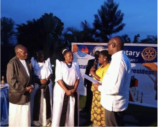 My Induction into Rotary