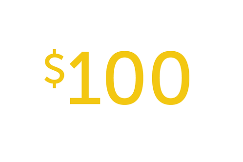 $100 Gift to Educate