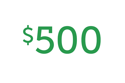 $500 Gift to Health