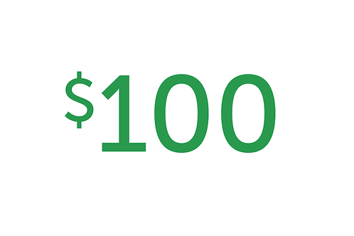 $100 Gift to Health